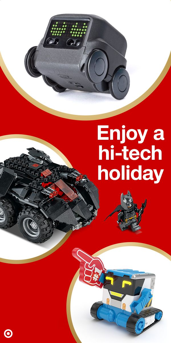 Get Robots Batmobiles And More From Bullseye S Top Toys Do You Have Kids Who Are Big Fans Of Robots And Rc Vehicles Then You Top Toys Toys For Boys Hot Toys