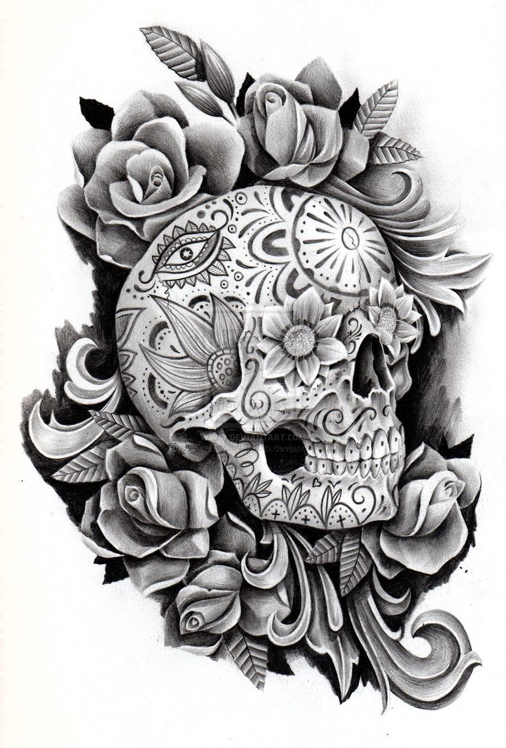 143 best skulls en tatoo images on pinterest drawings chicano