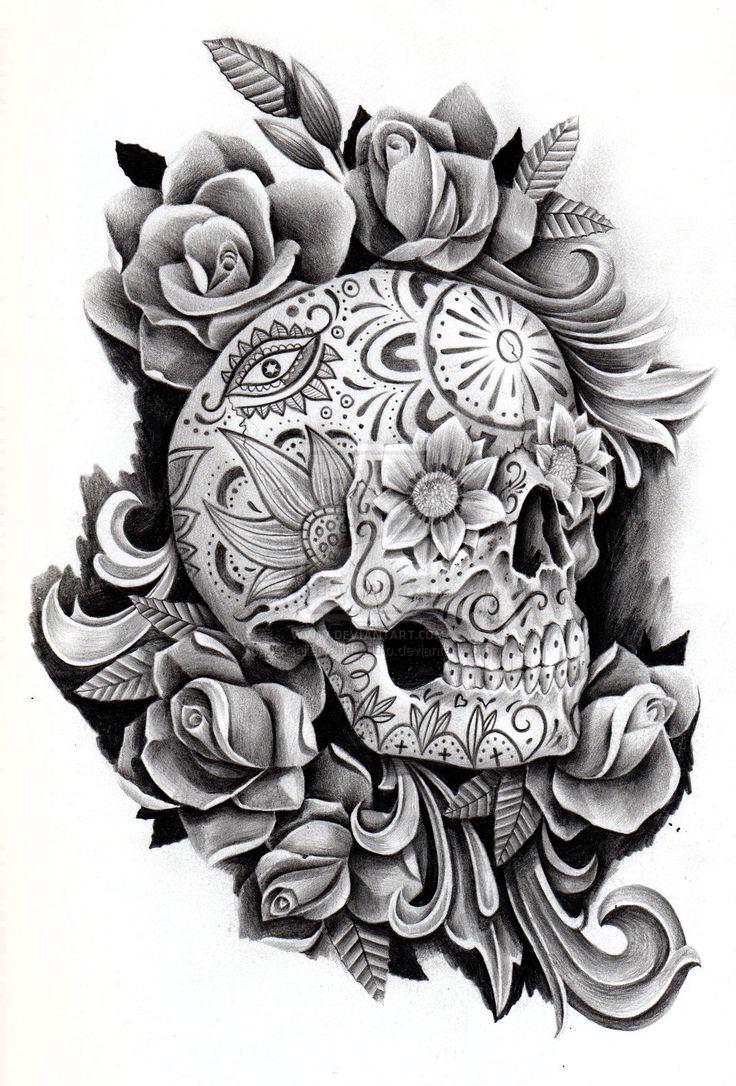 Day of the dead memorial by JCGalleryandStudio.deviantart.com on @deviantART