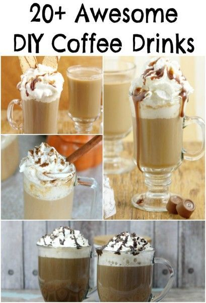 20+ Awesome DIY Coffee Drink Recipes