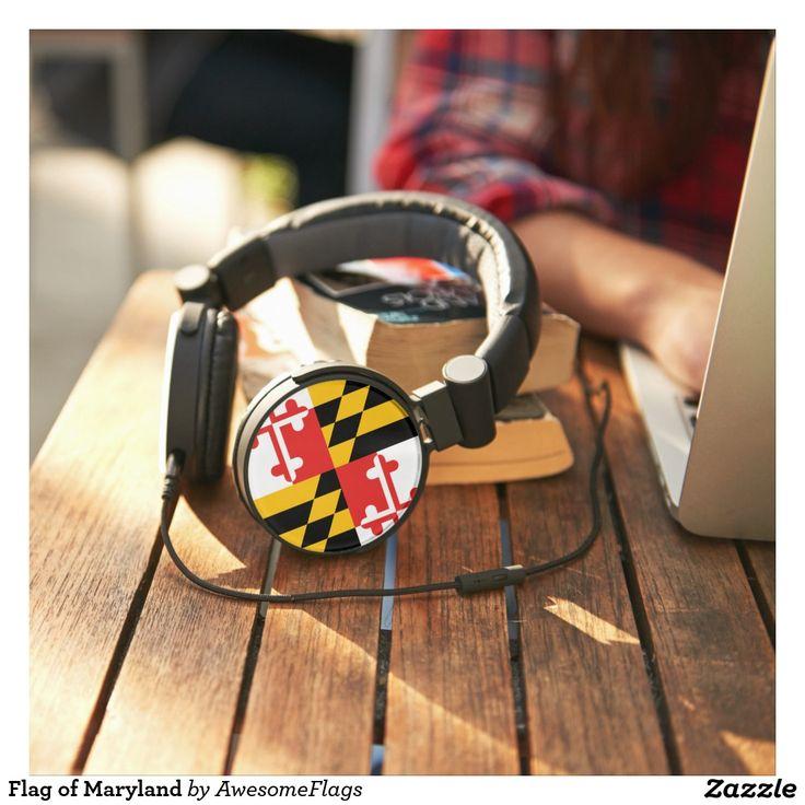 Flag of Maryland Headphones
