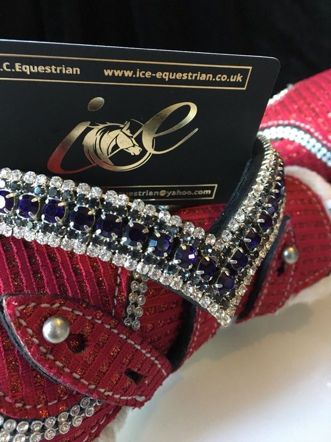 Bling Browband Ice Mega Sparkly