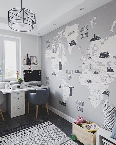 Landmarks World Map – Little Hands