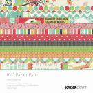 "KaiserCraft - Hello Sunshine - 6.5"" Paper Pad available @ www.scrapbooksuppliesonline.com.au"
