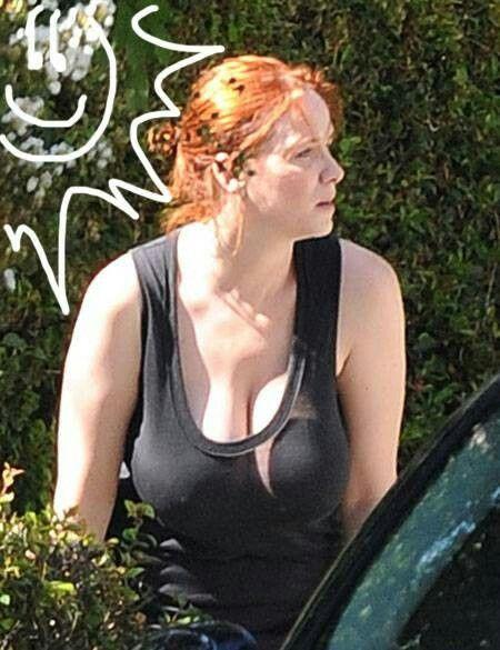 christina hendricks bikini