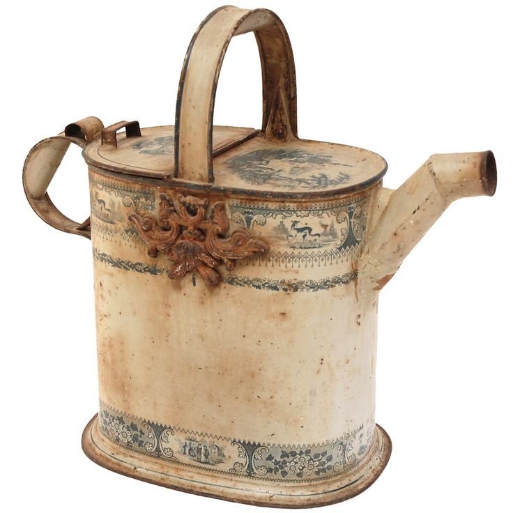 Antique watering can from a unique collection of antique - Unusual watering cans ...