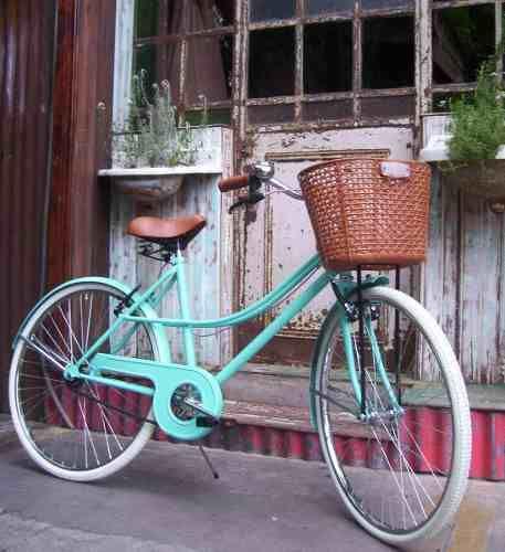 Bicicleta Vintage Mujer!! Rod 26 Hermosa!! - $ 3.600,00 en Mercado Libre