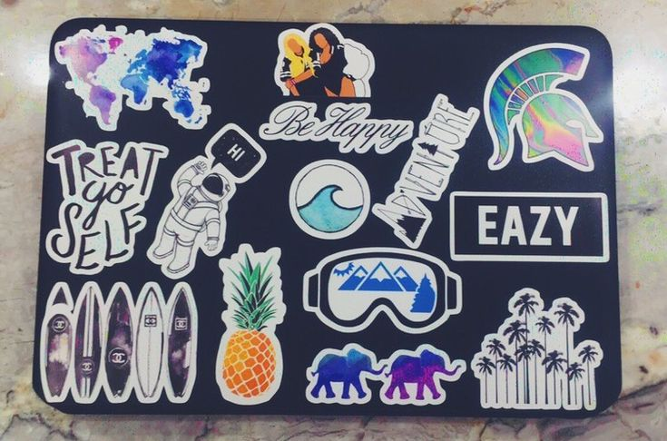 laptop stickers from red bubble ((: officially obsessed…