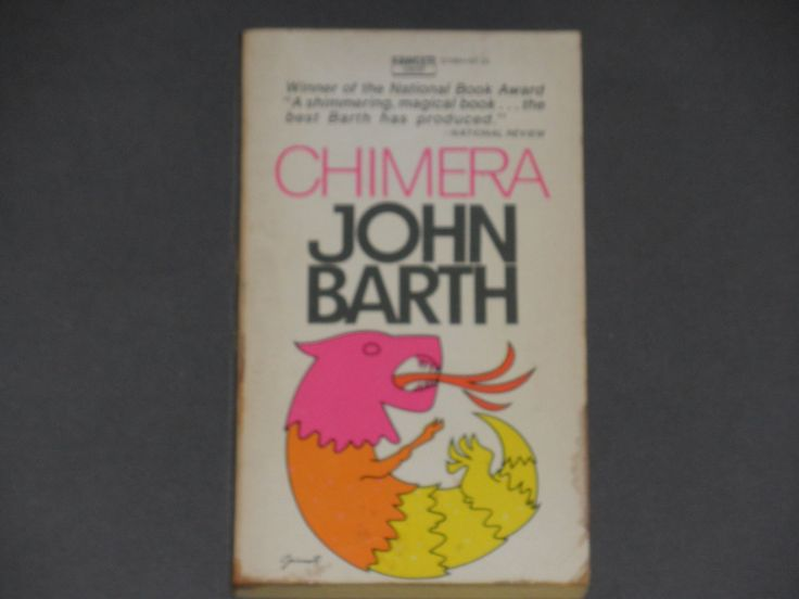 John Barth - Chimera - Fawcett Crest First Paperback Edition 1972 - Vintage Fiction Book - Postmodern Literature - American Novel by notesfromtheattic on Etsy