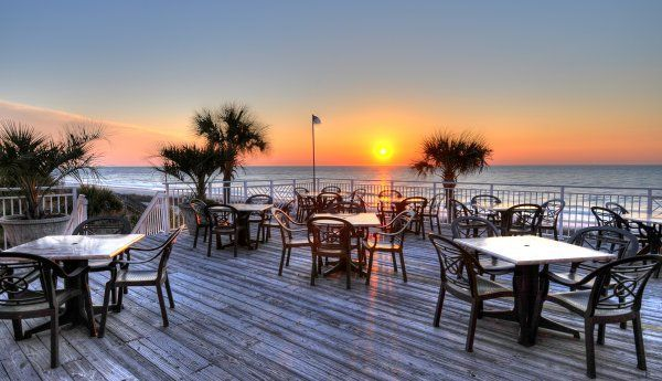 Best Waterfront Dining in the Myrtle Beach Area. Pin now, read later!  Murrells Inlet, Surfside Beach, Garden City Beach, Little River SC best restaurants!