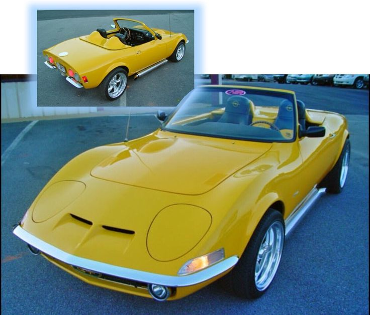'70 Opel GT Convertible Conversion