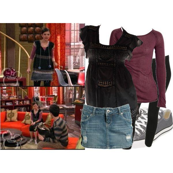 Selena Gomez as Alex Russo by jc10 on Polyvore