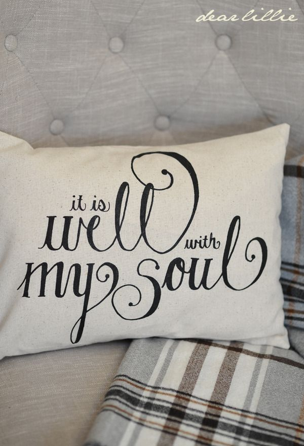 Image of It Is Well 12x16 Pillow Cover in Black & 280 best Pillow Talk... images on Pinterest | Cushions Christmas ... pillowsntoast.com