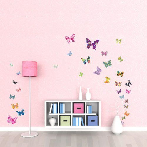 DW-1201 38 Bunte Schmetterlinge Wandstickers von Decowall, http://www.amazon.de/dp/B0093J9BRM/ref=cm_sw_r_pi_dp_QeSvtb0NF984X