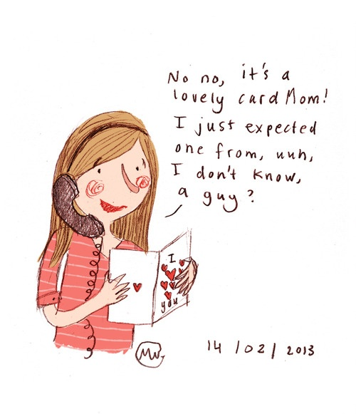 Valentine's day card - Marloes de Vries