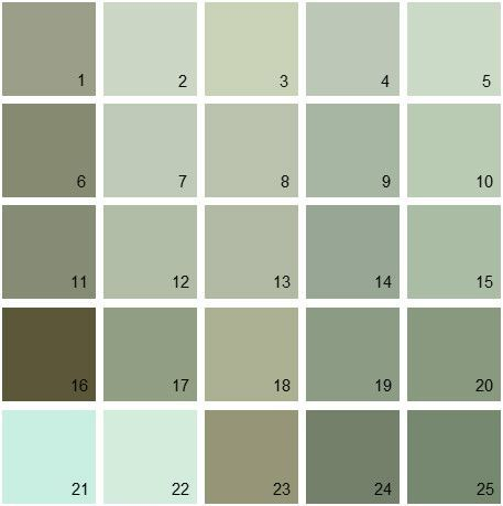 Find your paint colors fast and easy with house paint - What color is sage green ...