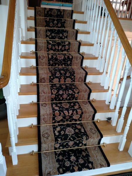 Best 20+ Stair rods ideas on Pinterest | Carpet runner ...