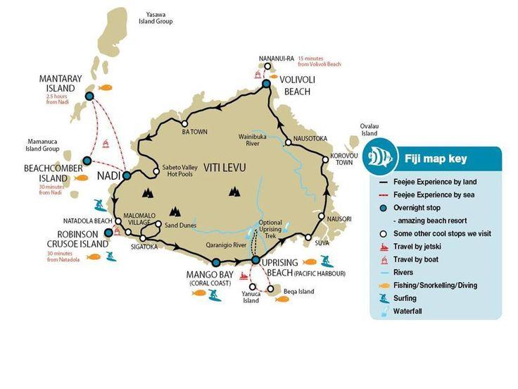 17 best Uprising Beach Resort Fiji images on Pinterest Beach - new world map fiji country
