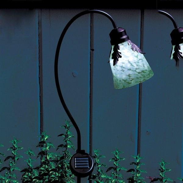 Toland Home Garden 24015 Solar Art Glass Stake Lighting