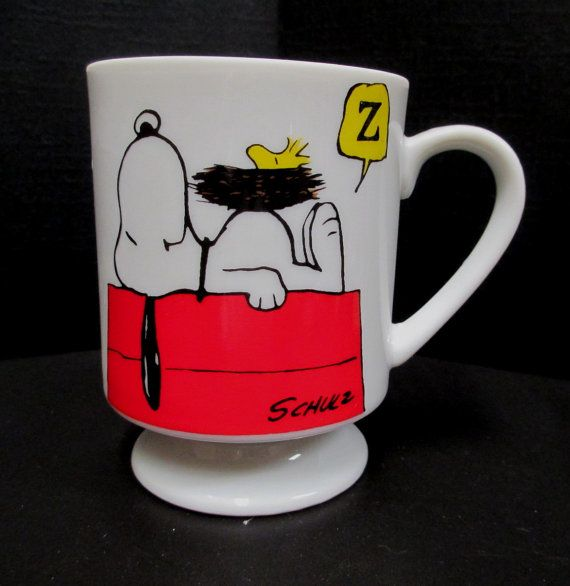 Snoopy Coffee Mug This Has Been a Good Day Peanuts by retrogal415