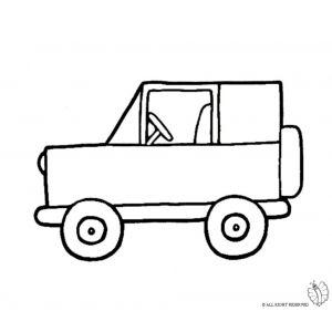 Disegno di jeep fuoristrada da colorare disegni da for Jeep da colorare