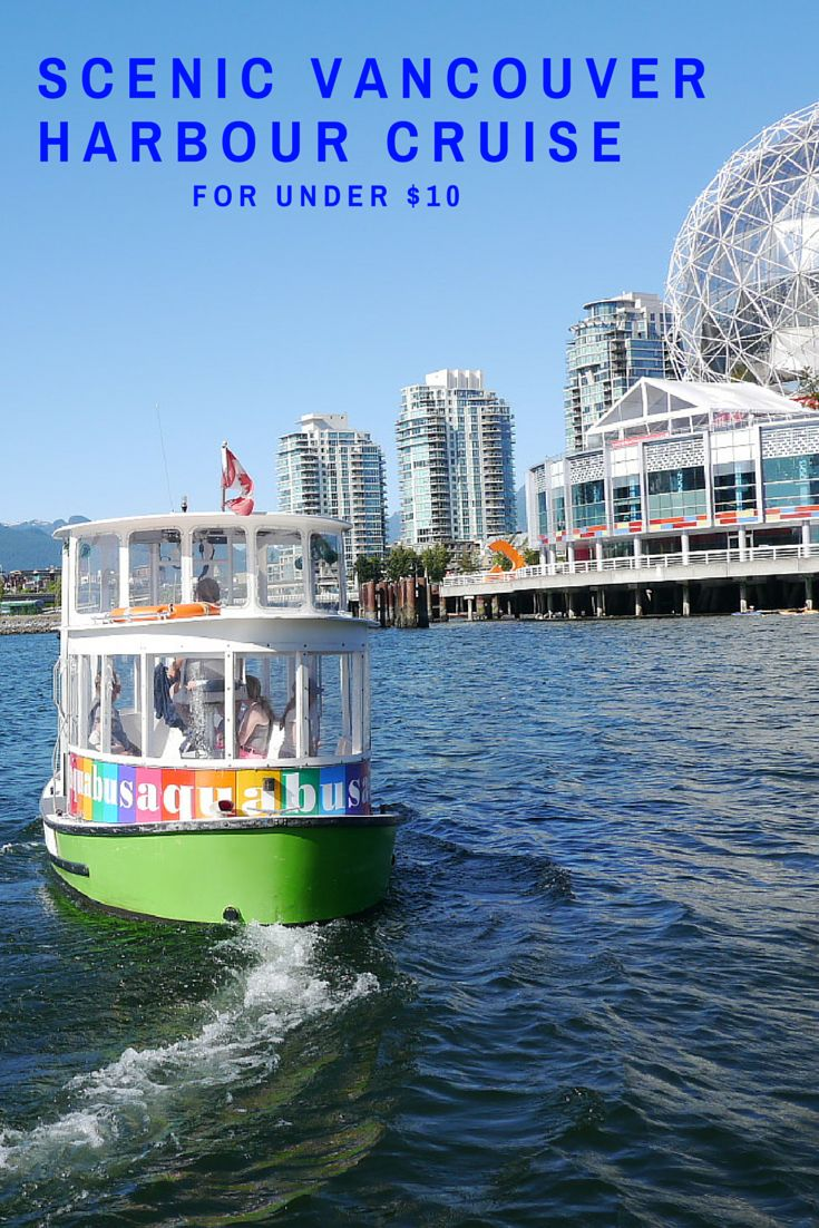 Planning a trip to #Vancouver? Be sure to ride the Aquabus! Amazing views for only $10! It's a water taxi that will get you to places like Science World, Granville Island, Yaletown and more.