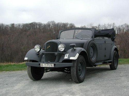 Skoda superb nazi staff car ww2 military staff cars for Mercedes benz of chandler staff