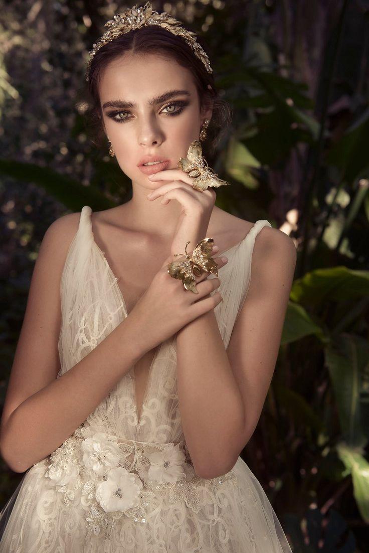 Magníficamente soñadora Yaki Ravid vestidos de novia para el 2016!