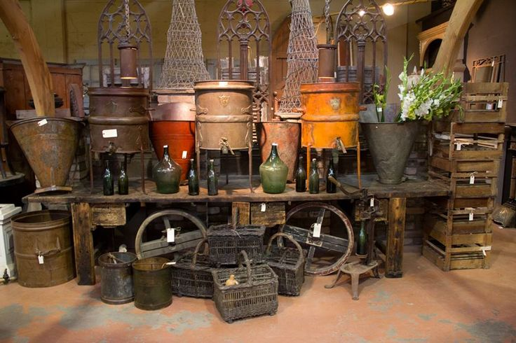 Beautiful wine antiques from France.