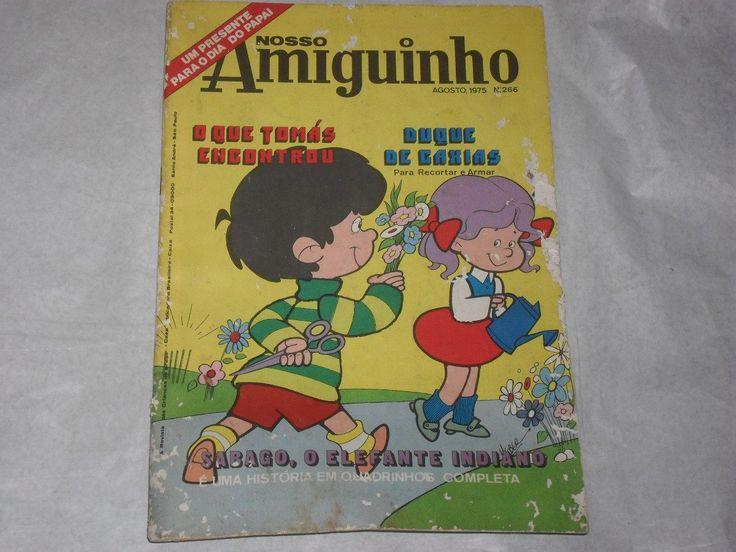Revista Nosso Amiguinho Nº 266 Ago 1975