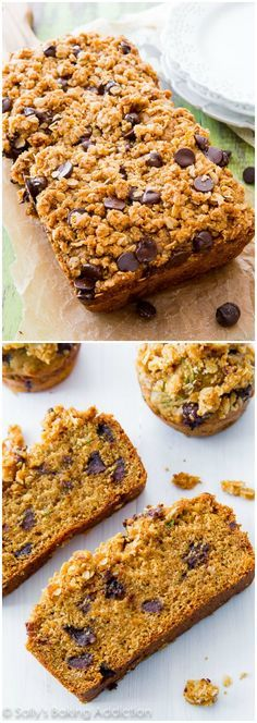 Chocolate Chip Zucchini Bread-- this is my all-time favorite and it won 1st…