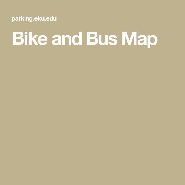 Bike and Bus Map