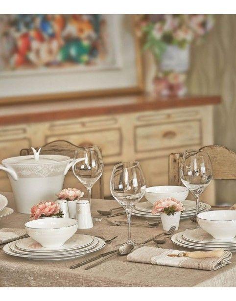 Serviesset 72-delig Lace #Serviesset #Diner #Tafel #Karaca #Tableware