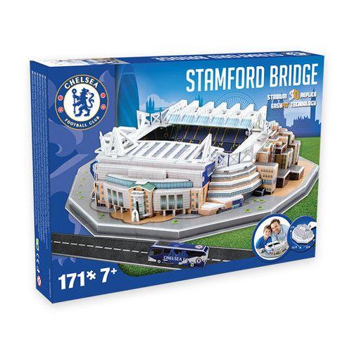 3D Puzzel Stadion Stamford Bridge (Chelsea) 171-Delig