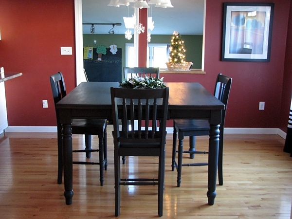 Chalk Paint Kitchen Table: Paint Kitchen Table And Chairs?