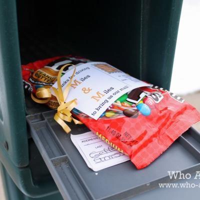 Thank a Mailman Postcard {free printable}