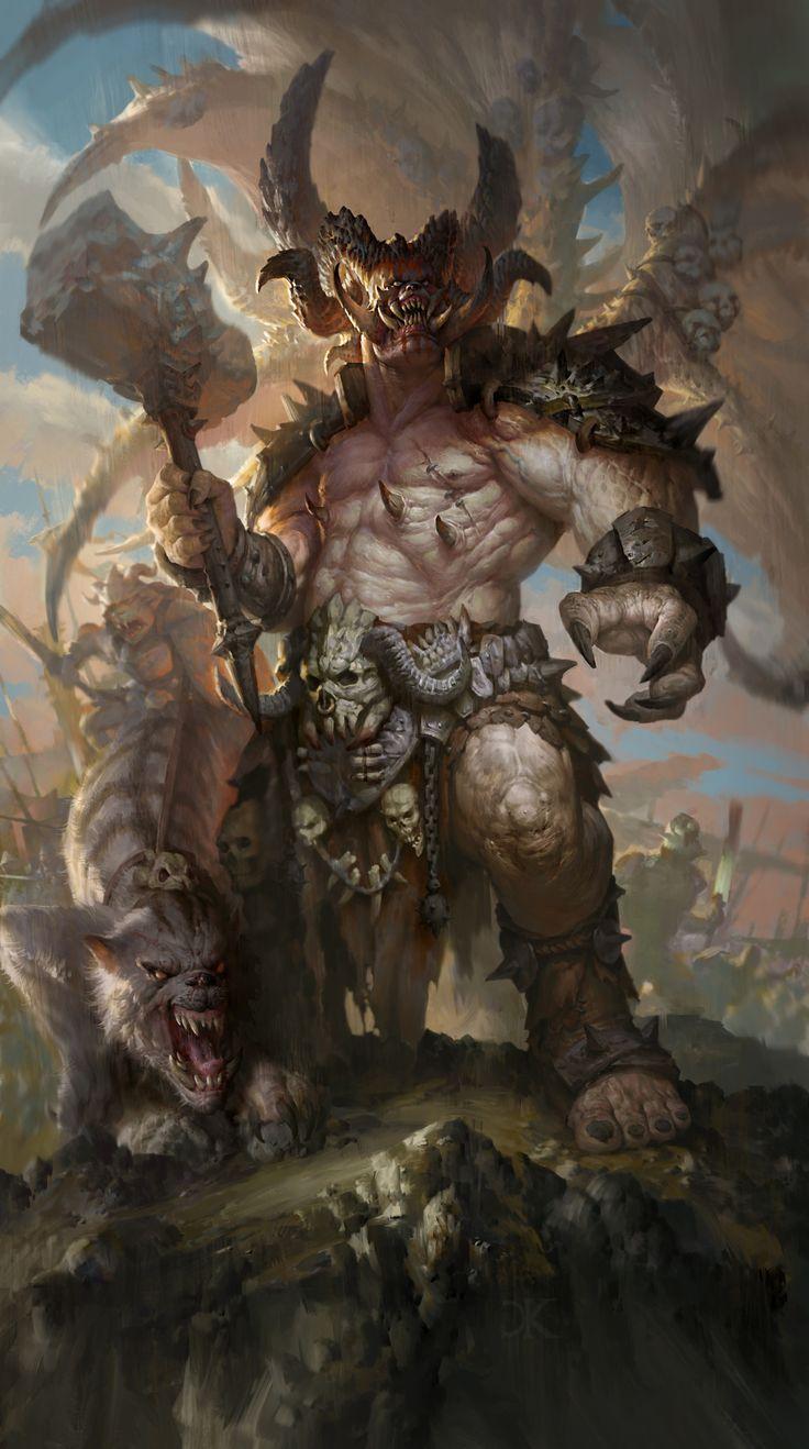 """Rehmgur Gark supremo. boss orchi. (250 pv 30att 0 def) Effetti: questa creatura raddoppia i danni inflitti e dimezza quelli subiti (stregoni esclusi).  """"Il """"gark"""" è il capo-tribù degli orchi. Rehmgur divenne """"gark supremo"""" dopo la vittoria sui nani  nella battaglia dei Monti di Duskal'Bur"""""""