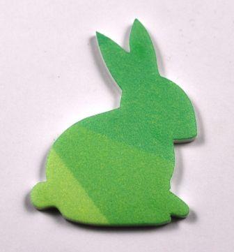 Shaded green rabbit
