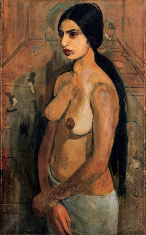 Self-Portrait as Tahitian, Amrita Sher-Gil
