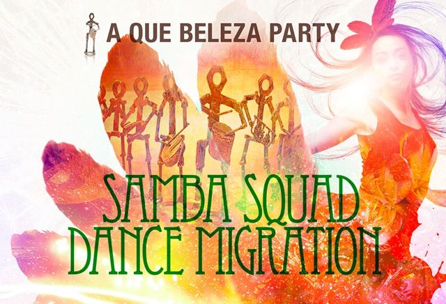 MIDF Recommends Samba Squad & Dance Migration Samba Squad led by Rick Shadrach Lazar Dance Migration led by Adrianna Yanuziello BODY MOVES HEAVY GROOVES Where: The Opera House, 735...