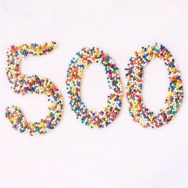 500 followers, thank you everyone! | https://instagram.com/p/6M6lSSRS5f/