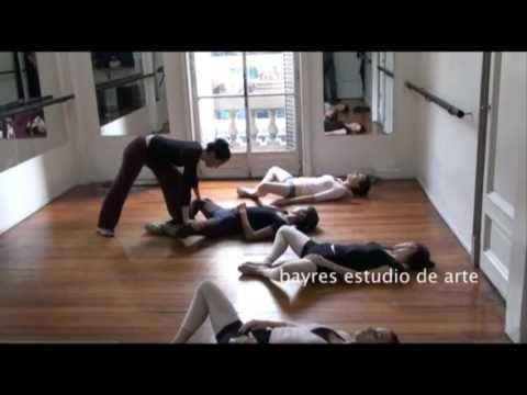 Clase de ballet para adultos #1 - Ballet lesson for adults #1 - By Victo...