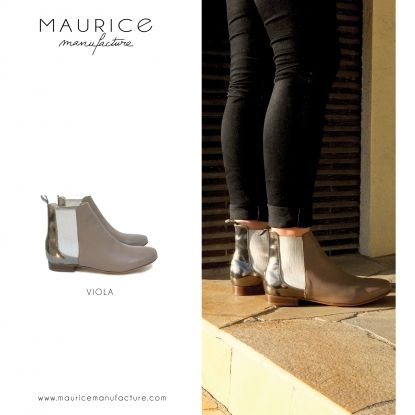 Lookbook Hiver 2015 | Maurice Manufacture - Boots VIOLA