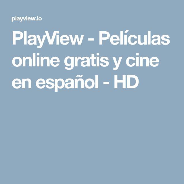 PlayView - Películas online gratis y cine en español - HD