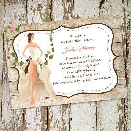 The Most Popular Bridal Shower Invitations at Elegantweddinginvites.com in August |