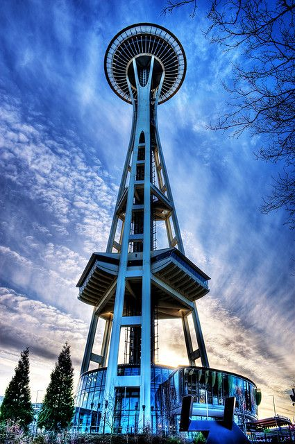Space Needle - Seattle - Washington - USA (von Surrealize)