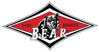 Bear Surfboards. Not a real company (at first), but anyone who loved Big Wednesday knows this logo. It's now a licensed surf brand.