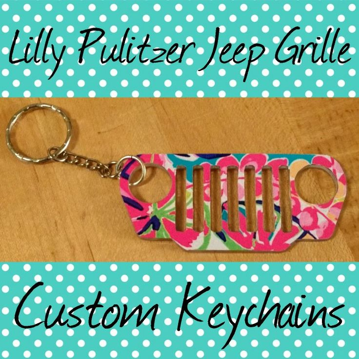 Are you Jeep girl and love Lilly Pulitzer? Why not have the best of both worlds with your very own Lilly Pulitzer Jeep Grille keychain available in over 75+ patterns. Order yours today! #jeepgirls #jeep #4x4girls #lillypulitzer #lillygirls #preppygirl #coastaldesign #keychain #lillykeychain #jeepaccessories #jeepmeet #jeepin #jeepwrangler