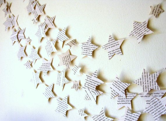 Eco Paper Garlands Vintage Paper Decor Paper Star by Pelemele, £12.00