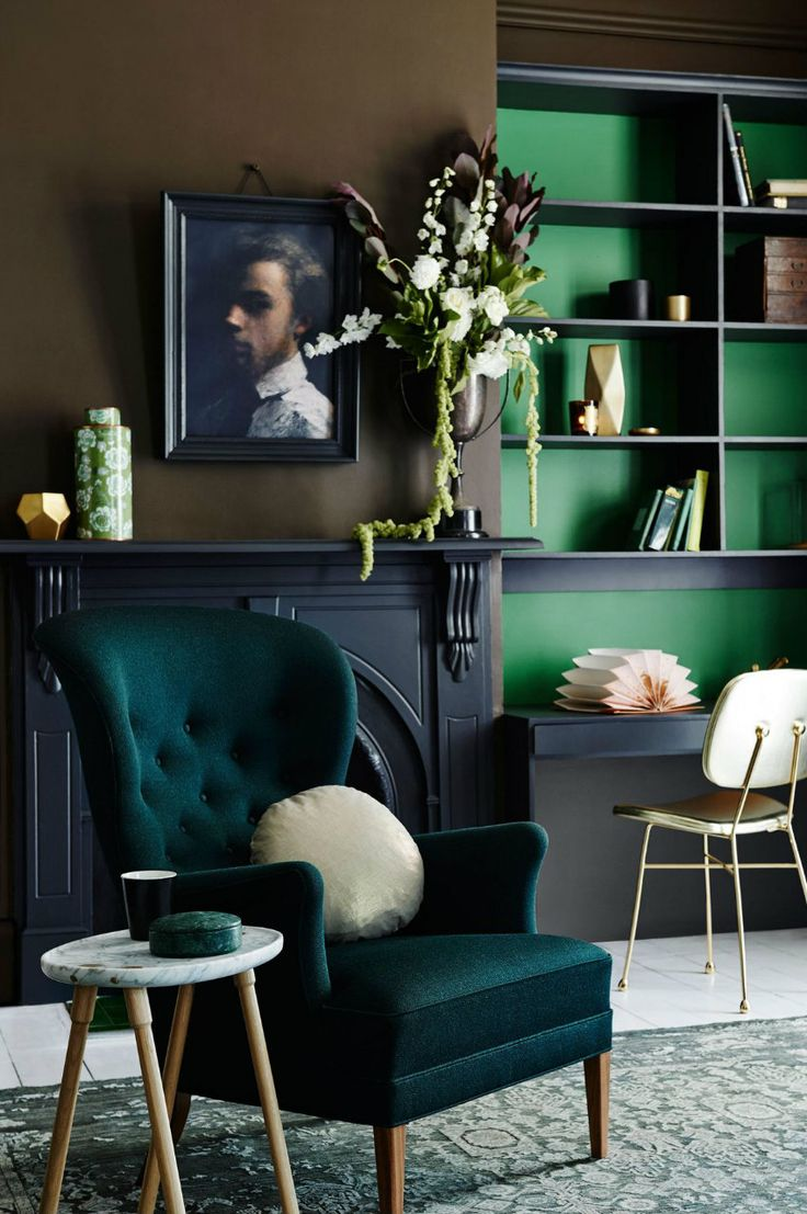 Wie ein moderner Sessel für Ihr Wohnzimmer Design wählen | Immer klassiche Elemente mit moderne misschen. Samt Sessel und Marmor Beistelltisch.| #interiordesign #innenarchitektur #wohnzimmerdesign